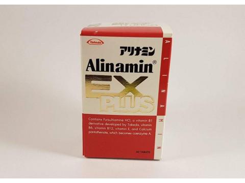 Alinamin EX PLUS – vitamin B1 B6 B12 – 60 tablets