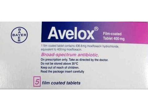 MOXIFLOXACIN HCL 400 MG AVELOX