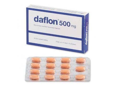 Daflon 500 mg 30 tablets