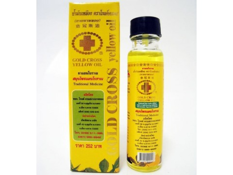 Gold Cross Yellow Oil 24 ml