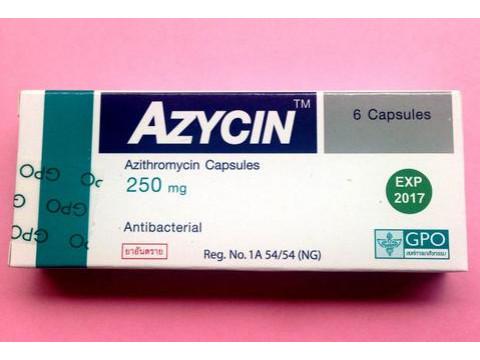 AZITHROMYCIN 250 MG AZYCIN
