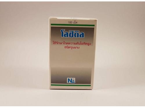 Loxidil (Minoxidil) 5 mg 100 tablets