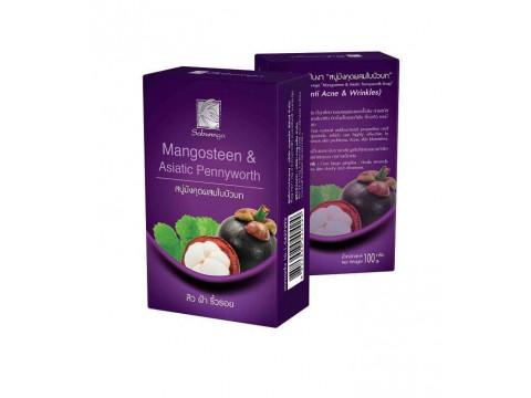 Herbal Soap Mangosteen & Asiatic Pennywort Sabunnga