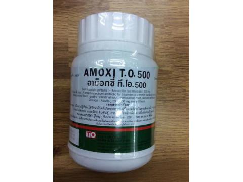 AMOXICILLIN 500 MG 500 CAPSULES