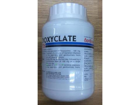 DOXYCYCLINE 100 MG 500 CAPSULES DOXYCLATE