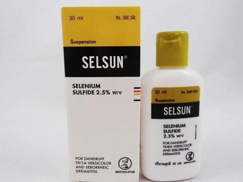 SELSUN Selenium Sulfide Shampoo 30 ml