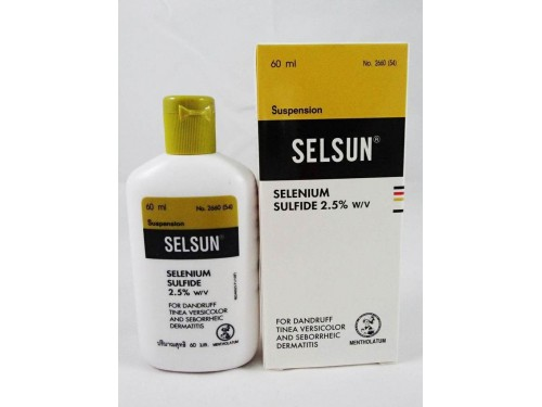 SELSUN Selenium Sulfide Shampoo 60 ml