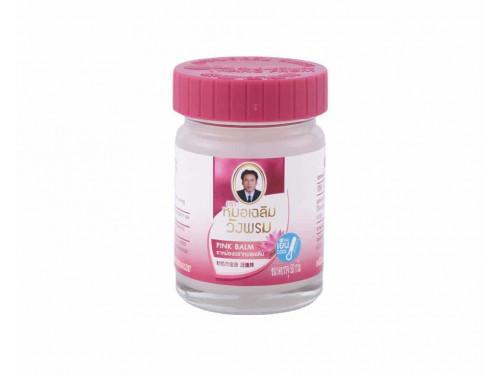 Wangphrom Thai Herbal Pink Balm 50 g