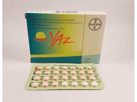 Yaz (Drospirenone, Enthinylestradiol) – 28 tablets